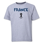 France 2014 FIFA World Cup Brazil(TM) Youth Core T-Shirt (Gray)