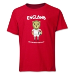 England 2014 FIFA World Cup Brazil(TM) Youth Mascot T-Shirt (Red)