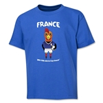 France 2014 FIFA World Cup Brazil(TM) Youth Mascot T-Shirt (Royal)