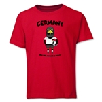 Germany 2014 FIFA World Cup Brazil(TM) Youth Mascot T-Shirt (Red)