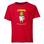Ghana 2014 FIFA World Cup Brazil(TM) Youth Mascot T-Shirt (Red)