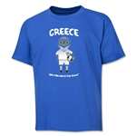 Greece 2014 FIFA World Cup Brazil(TM) Youth Mascot T-Shirt (Royal)