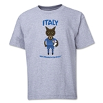 Italy 2014 FIFA World Cup Brazil(TM) Youth Mascot T-Shirt (Grey)