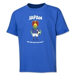 Japan 2014 FIFA World Cup Brazil(TM) Youth Mascot T-Shirt (Royal)