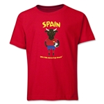 Spain 2014 FIFA World Cup Brazil(TM) Youth Mascot T-Shirt (Red)