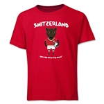 Switzerland 2014 FIFA World Cup Brazil(TM) Youth Mascot T-Shirt (Red)