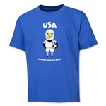 USA 2014 FIFA World Cup Brazil(TM) Youth Mascot T-Shirt (Royal)