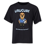 Uruguay 2014 FIFA World Cup Brazil(TM) Youth Mascot T-Shirt (Black)