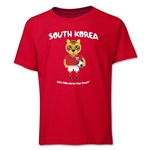 South Korea 2014 FIFA World Cup Brazil(TM) Youth Mascot T-Shirt (Red)