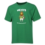 Mexico 2014 FIFA World Cup Brazil(TM) Youth Mascot T-Shirt (Green)