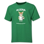 Algeria 2014 FIFA World Cup Brazil(TM) Youth Mascot T-Shirt (Green)