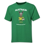Australia 2014 FIFA World Cup Brazil(TM) Youth Mascot T-Shirt (Green)