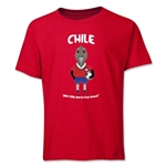 Chile 2014 FIFA World Cup Brazil(TM) Youth Mascot T-Shirt (Red)