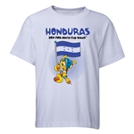 Honduras 2014 FIFA World Cup Brazil(TM) Youth Mascot Flag T-Shirt (White)
