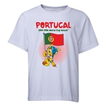 Portugal 2014 FIFA World Cup Brazil(TM) Youth Mascot Flag T-Shirt (White)
