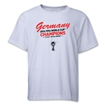 Germany 2014 FIFA World Cup Brazil(TM) Youth Champions T-Shirt (White)