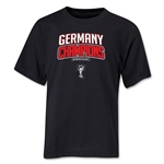 Germany 2014 FIFA World Cup Brazil(TM) Youth Champions Logotype T-Shirt (Black)