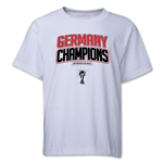 Germany 2014 FIFA World Cup Brazil(TM) Youth Champions Logotype T-Shirt (White)