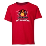 Germany 2014 FIFA World Cup Brazil(TM) Youth Champions Official Look Trophy T-Shirt (Red)
