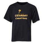 Germany 2014 FIFA World Cup Brazil(TM) Youth Champions Trophy T-Shirt (Black)