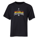 Germany 2014 FIFA World Cup Brazil(TM) Youth World Champions T-Shirt (Black)