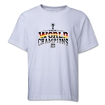 Germany 2014 FIFA World Cup Brazil(TM) Youth World Champions T-Shirt (White)