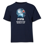 FIFA Interactive World Cup Youth Full Color Emblem T-Shirt (Navy)
