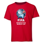 FIFA Interactive World Cup Youth Full Color Emblem T-Shirt (Red)