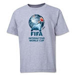 FIFA Interactive World Cup Youth Full Color Emblem T-Shirt (Grey)