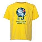 FIFA Interactive World Cup Youth Full Color Emblem T-Shirt (Yellow)