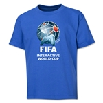FIFA Interactive World Cup Youth Full Color Emblem T-Shirt (Royal)