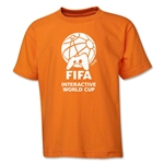 FIFA Interactive World Cup Youth Single Color Emblem T-Shirt (Orange)