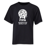 FIFA Interactive World Cup Youth Single Color Emblem T-Shirt (Black)