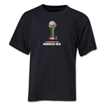 FIFA Club World Cup Morocco 2013 Youth Official Emblem T-Shirt (Black)