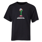 FIFA Club World Cup Morocco 2014 Youth Core T-Shirt (Black)