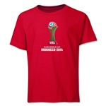 FIFA Club World Cup Morocco 2014 Youth Core T-Shirt (Red)