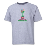 FIFA Club World Cup Morocco 2014 Youth Core T-Shirt (Grey)