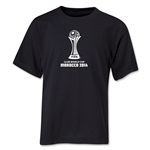 FIFA Club World Cup Morocco 2014 Youth Core 3 T-Shirt (Black)