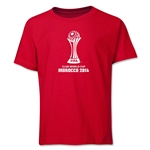 FIFA Club World Cup Morocco 2014 Youth Core 3 T-Shirt (Red)