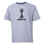 FIFA Club World Cup Morocco 2014 Youth Core 3 T-Shirt (Grey)