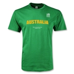 FIFA U-20 World Cup Turkey Youth Australia T-Shirt (Green)