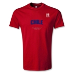 FIFA U-20 World Cup Turkey Youth Chile T-Shirt (Red)