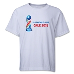 FIFA U-17 World Cup Chile 2015 Youth Landscape T-Shirt (White)