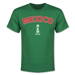 Mexico FIFA U-17 World Cup Chile 2015 Youth T-Shirt (Green)