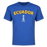 Ecuador FIFA U-17 World Cup Chile 2015 Youth T-Shirt (Royal)