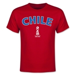 Chile FIFA U-17 World Cup Chile 2015 Youth T-Shirt (Red)