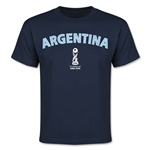 Argentina FIFA U-17 World Cup Chile 2015 Youth T-Shirt (Navy)