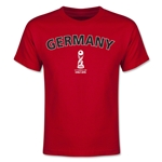 Germany FIFA U-17 World Cup Chile 2015 Youth T-Shirt (Red)