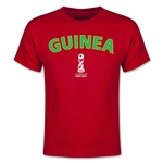 Guinea FIFA U-17 World Cup Chile 2015 Youth T-Shirt (Red)