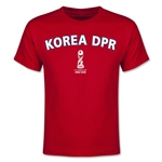 Korea DPR FIFA U-17 World Cup Chile 2015 Youth T-Shirt (Red)